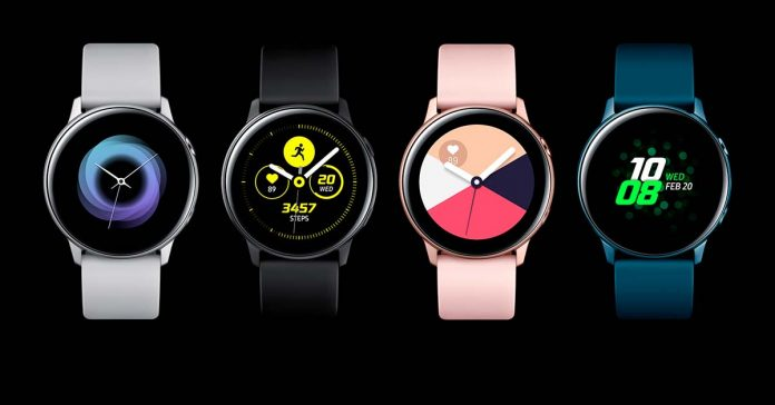 Samsung Galaxy Watch Active 2 ECG heart rate tracking