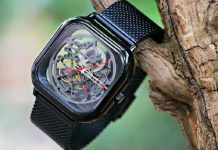 xiaomi mechanical watch t-series ciga design