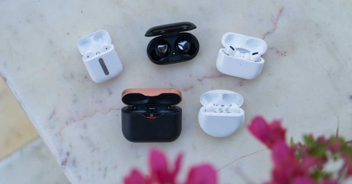 Best TWS wireless earbuds in Nepal oppo enco free samsung galaxy buds+ apple airpods pro huawei freebuds sony