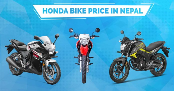 Honda Bikes Price in Nepal | honda scooters price nepal
