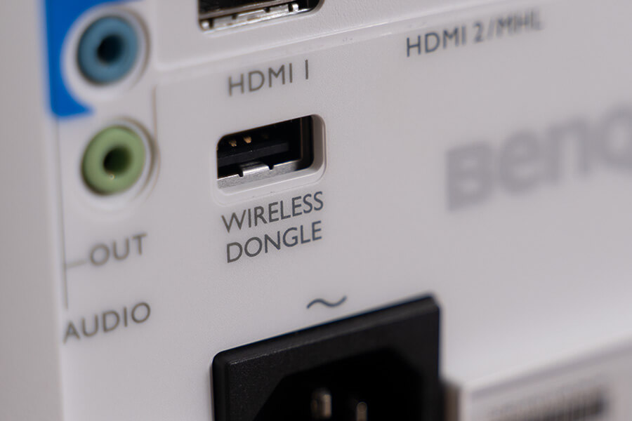 benq mx731 wireless dongle