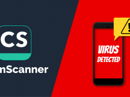 cam scanner infected with malware