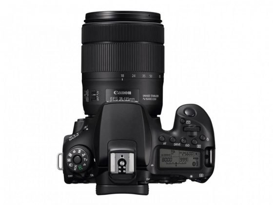 canon eos 90d with lens