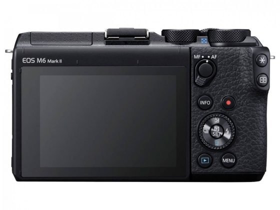 canon eos m6 mark ii display