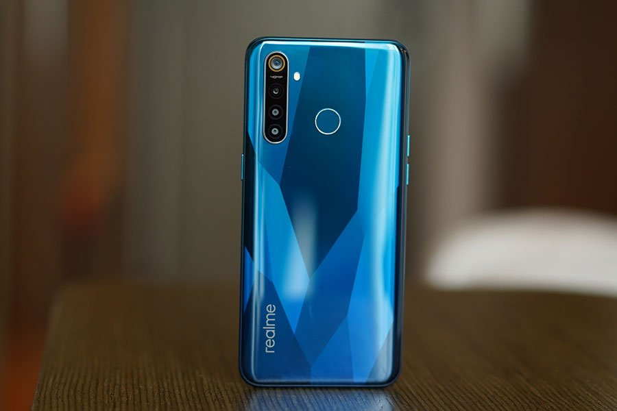 realme 5 pro design back looks
