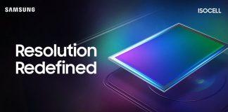108mp Samsung isocell Bright HMX Camera Sensor