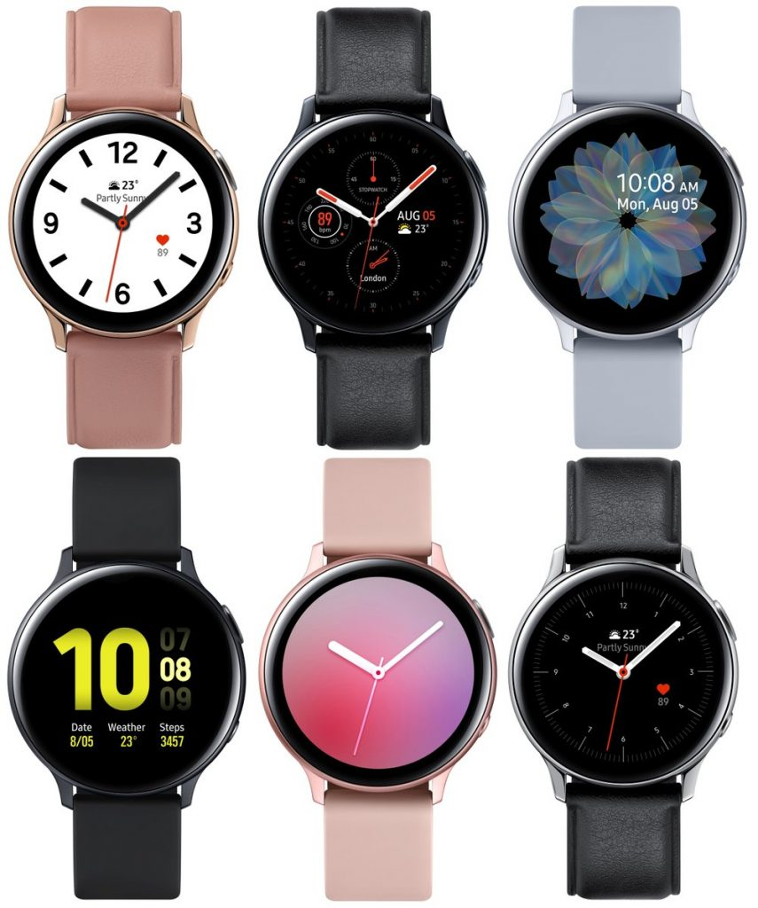 Samsung Galaxy Watch Active 2 specs features