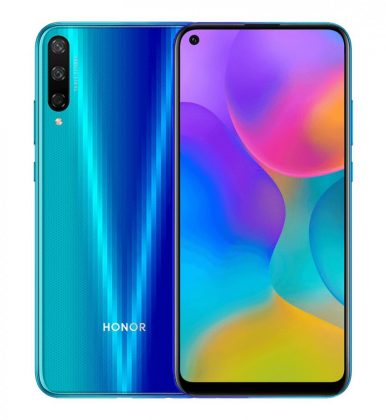 honor play 3 aurora blue