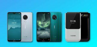 nokia 7.2 nokia 6.2 nokia 2720 flip phone