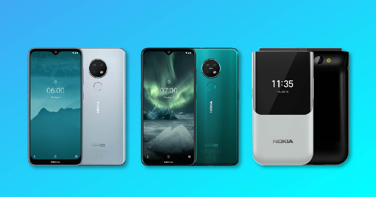 Nokia 7 2, Nokia 6 2 & Nokia 2720 flip phone launchd at IFA 2019