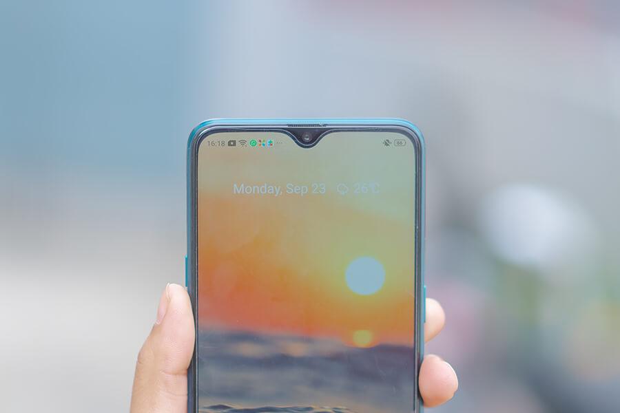 realme 5 pro screen