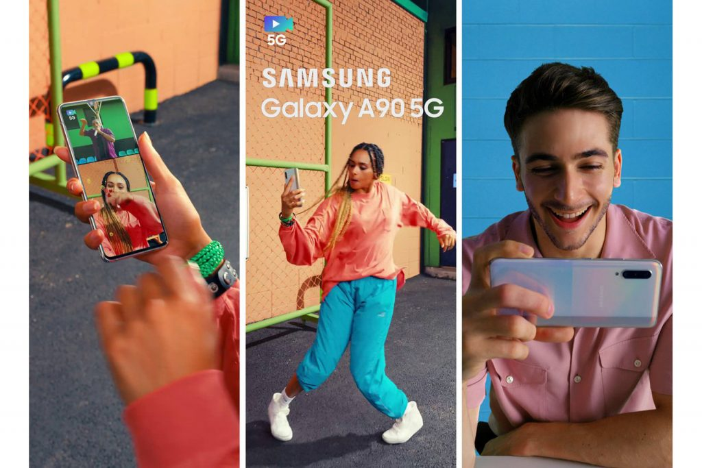 samsung galaxy a90 5g camera features
