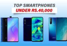 top smartphones under 40000 in nepal