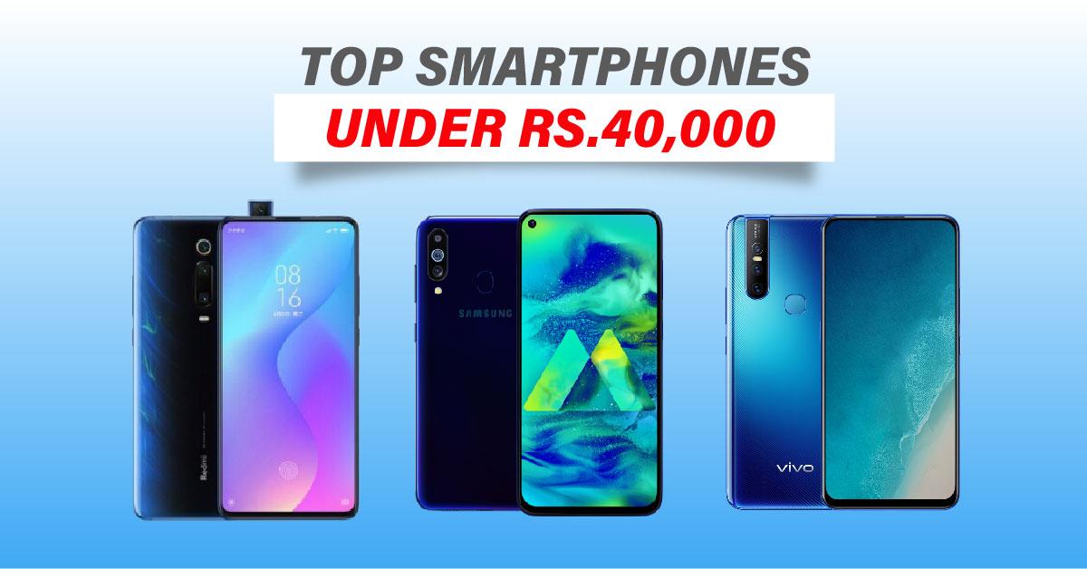 Top smartphones under 40000 in Nepal | Best mobiles under Rs