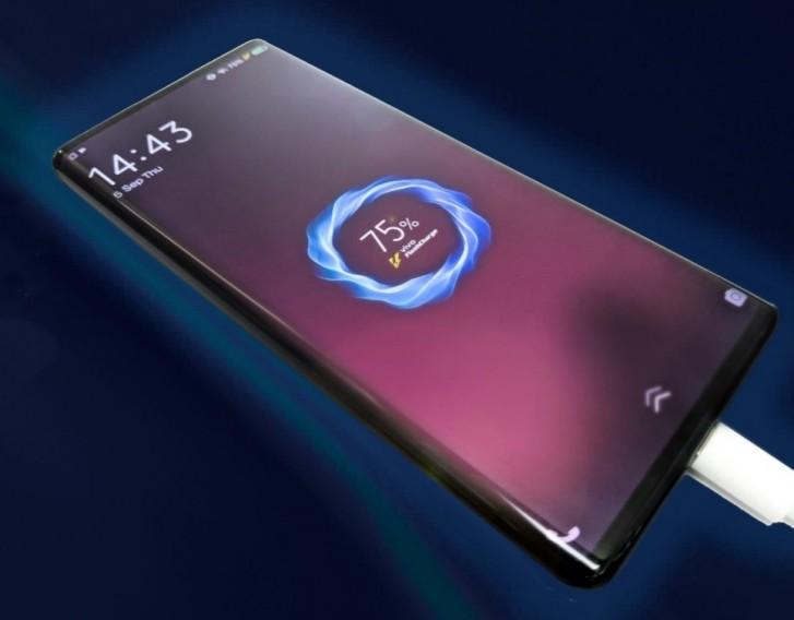 vivo nex 3 5g fast charging