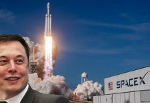 Elon Musk SpaceX Starlink satellites