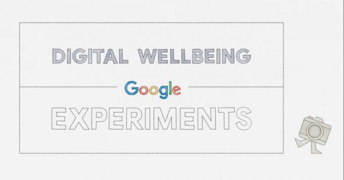 Digital Experiments Google Digital Wellbeing