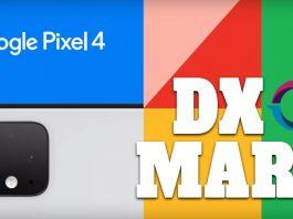 google Pixel 4 DxOMark score
