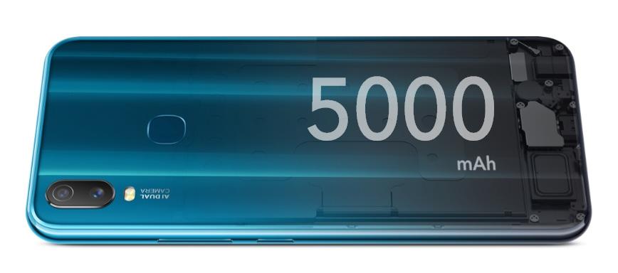 Vivo Y11 2019 5000 mAh battery price nepal availability