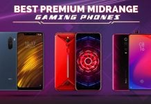 best gaming phones midrange 2019