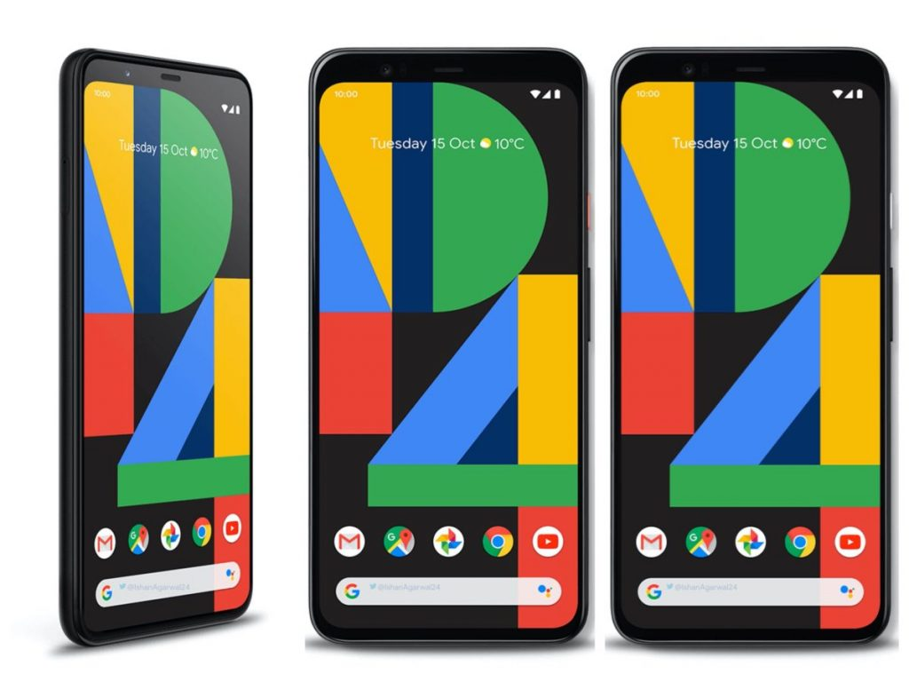 google pixel 4 display