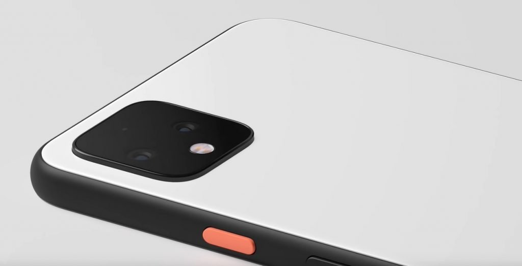 google pixel 4 power button