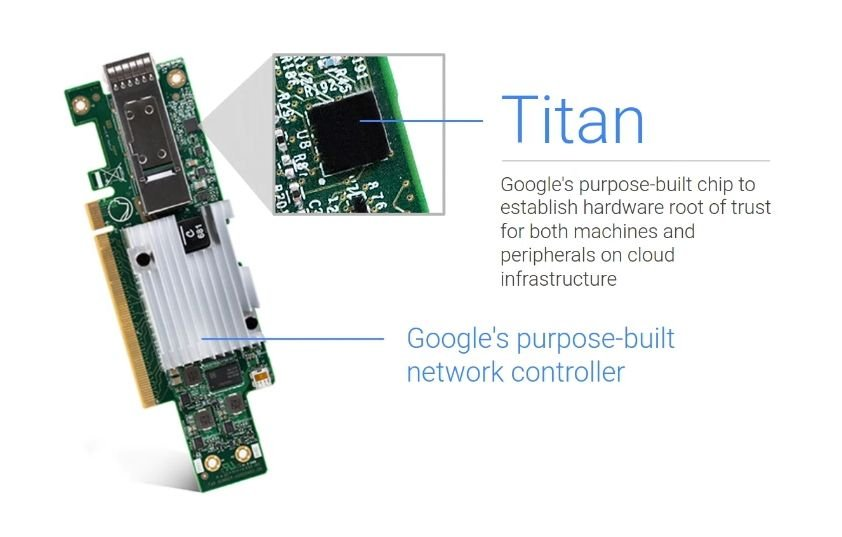 google pixel 4 titan m security chip