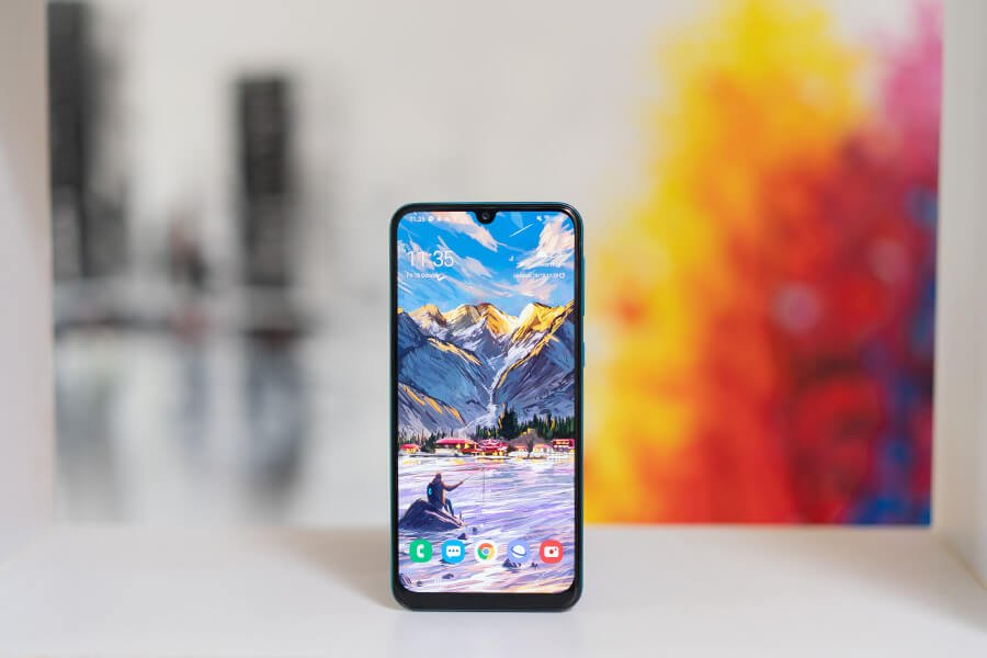 samsung galaxy m30s display