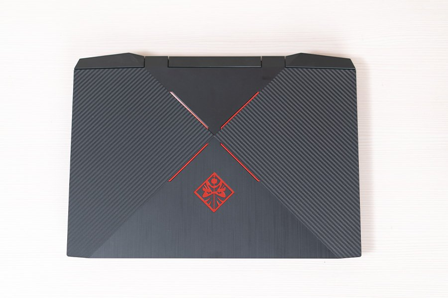 HP Omen 15 2019 Review Back view design