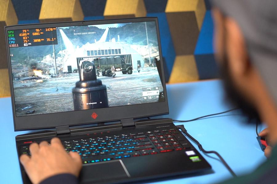HP Omen 15 2019 gaming