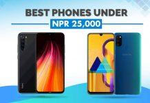 best phones under 25000 in nepal