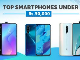 best phones under 50000 in Nepal
