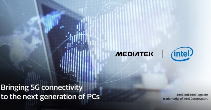 intel and mediatek teaming up to make 5g chips for pcs