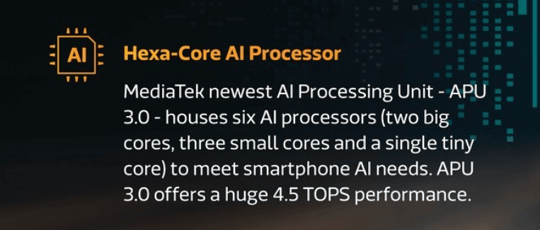 mediatek dimensity 1000 5g chipset alu