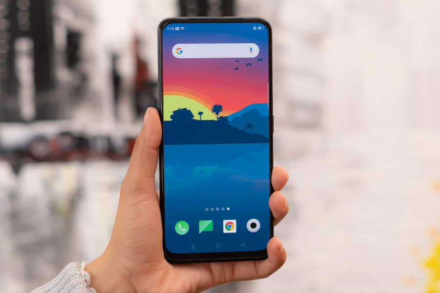 oppo reno2 F review display