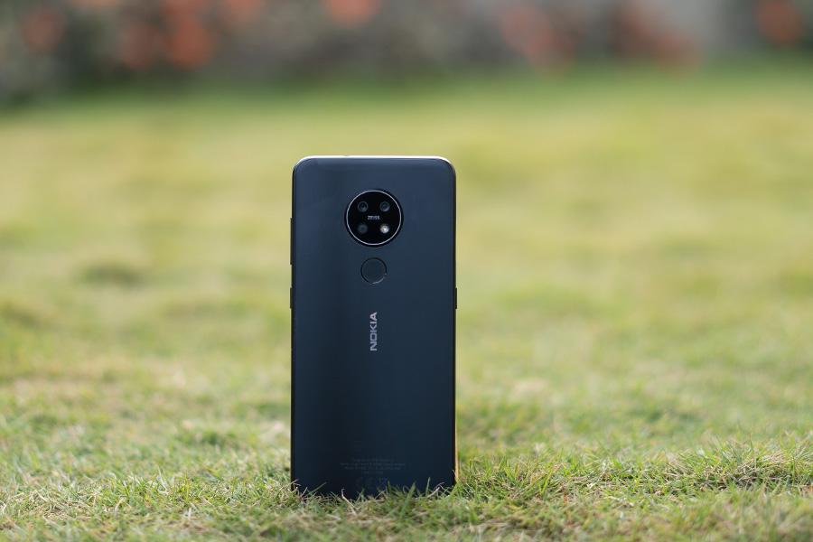 Nokia 7.2 Design and Build back camera nokia logo