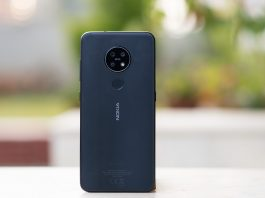 nokia 7.2 review back design color