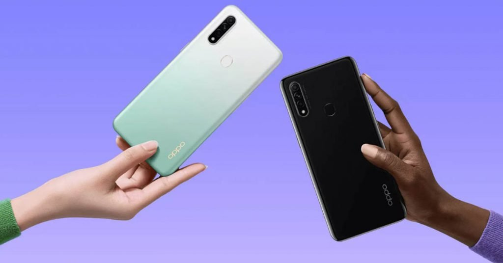 OPPO A8 color Options
