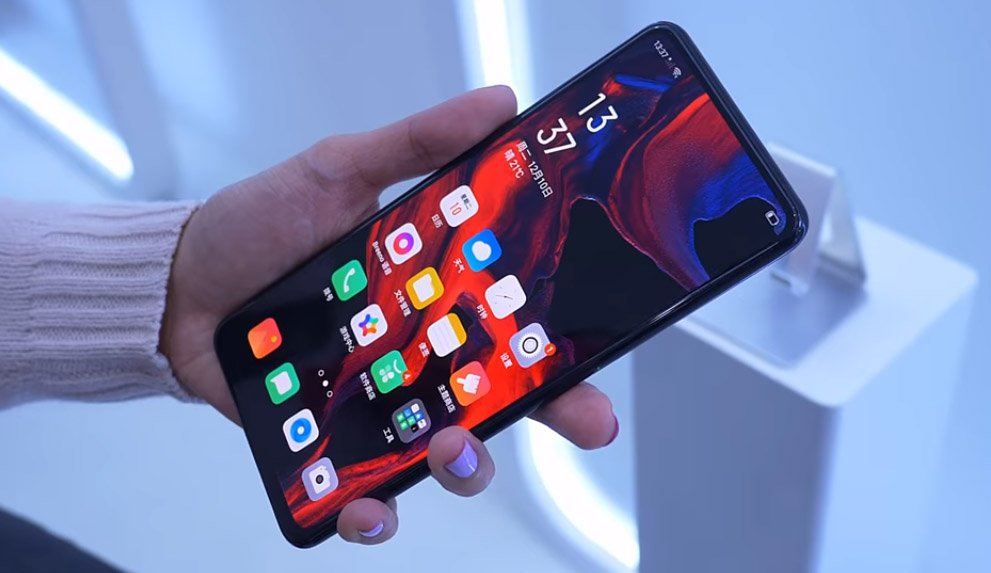 OPPO USC prototype phone hands-on.