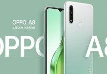 Oppo A8 launched in China