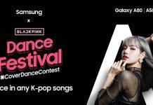 Samsuung Black Pink Dance Festival
