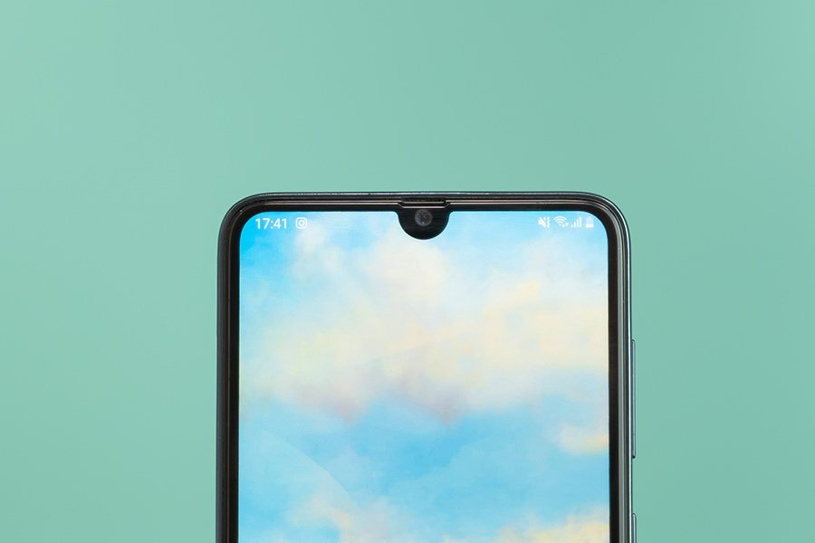 Samsung Galaxy A70s Front Selfie Camera