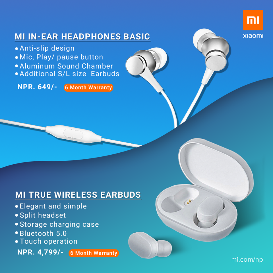 Xiaomi Mi True Wireless TWS Earbuds price nepal