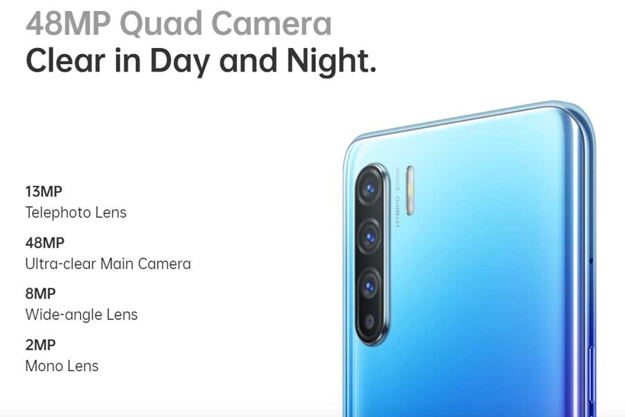 oppo reno 3 camera specifications