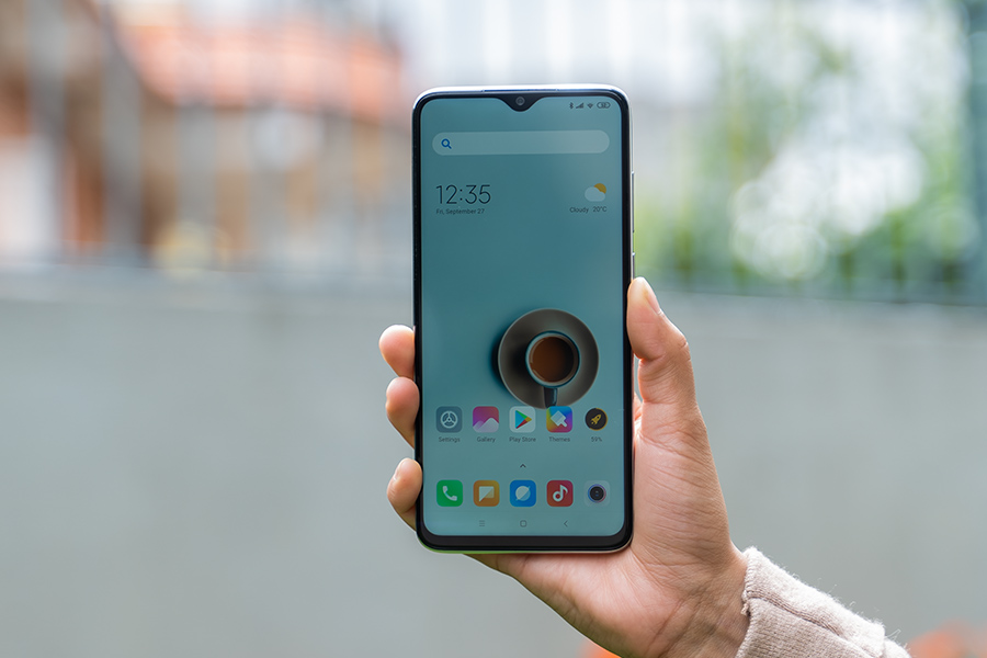 redmi note 8 pro display outdoor visibility