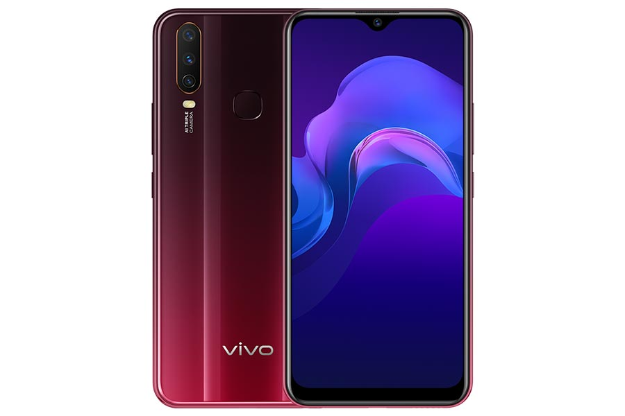 vivo y12 design display