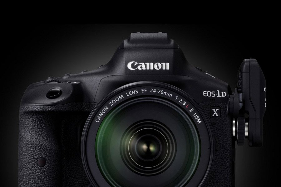 Canon EOS-1D X Mark III DSLR Camera Front 2