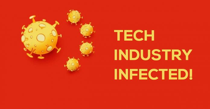 Coronavirus takes a toll on the tech world