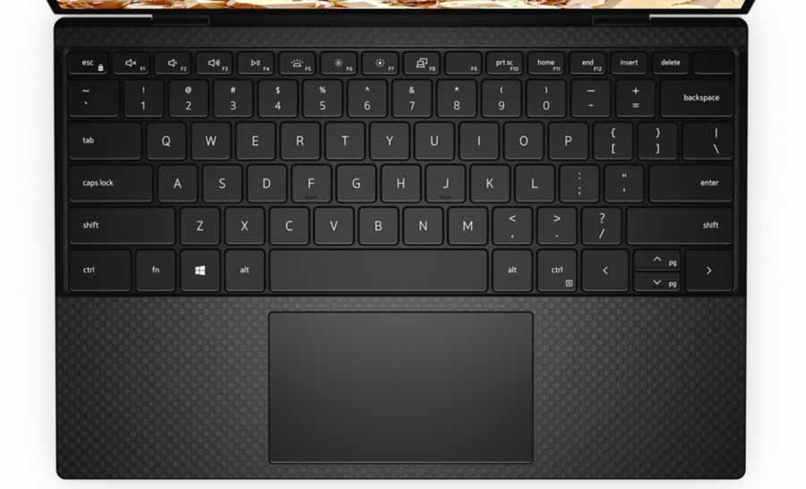 Dell XPS 13 9300 Edge to Edge Keyboard