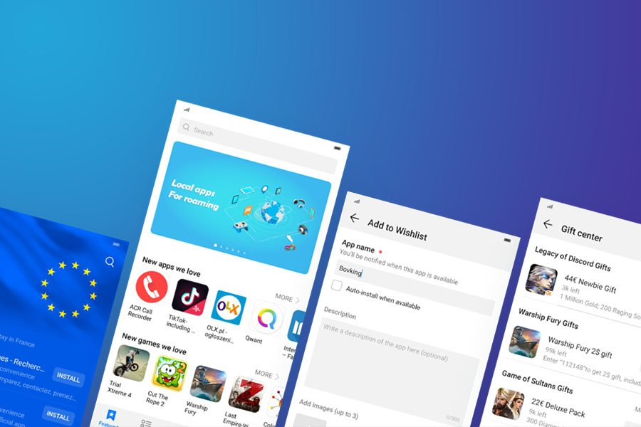 Huawei Mobile Services (HMS) Huawei AppGallery UI and Design